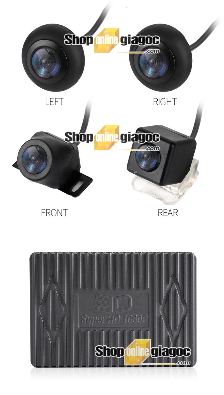 Camera 360 Độ Ô Tô 3D Toàn Cảnh Siêu Nét