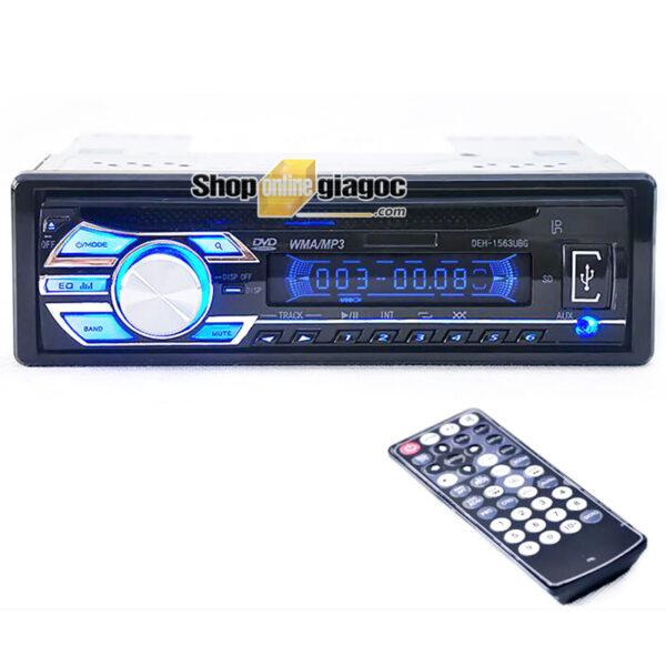 Đầu DVD 1 Din MP4 Bluetooth 1563