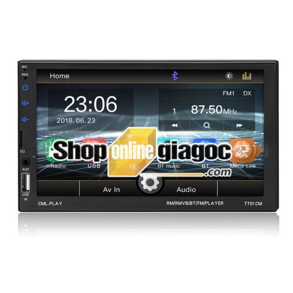 Đầu Phát Nhạc Mp5 Màn Hình Điện Dung 7inch HD Bluetooth 7701