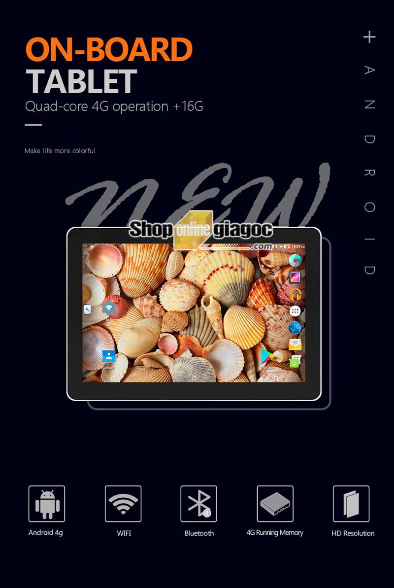 Màn Hình Kẹp Gối Android 10 Inch