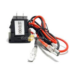 Cổng Sạc 2 USB + Vôn Kế Điện Cho Xe Honda Lớn 12 V 4.2A