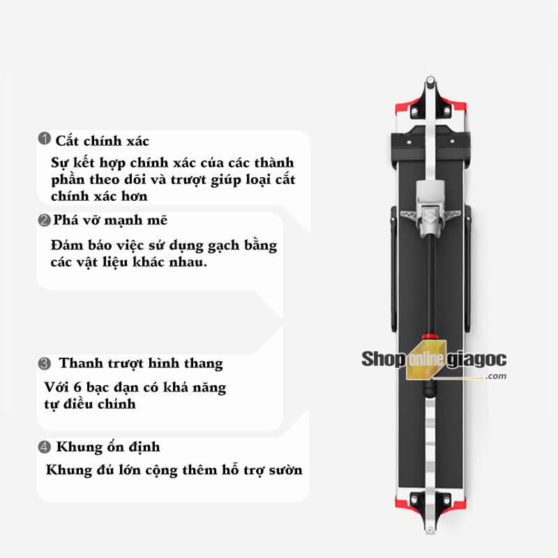 Bàn Cắt Gạch Bằng Tay Rubi X-One 850 - shoponlinegiagoc