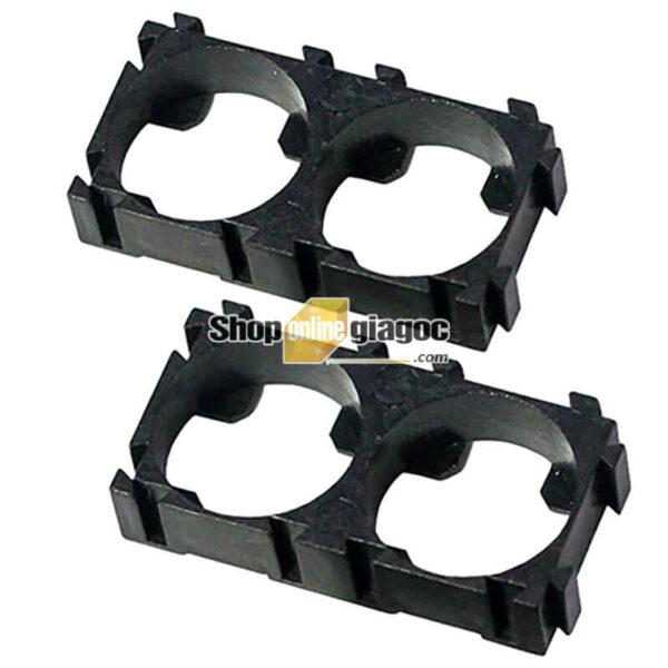Khung Cố Định 2 Pin 18650 Lắp Ghép (Bộ 10 cái) - shoponlinegiagoc