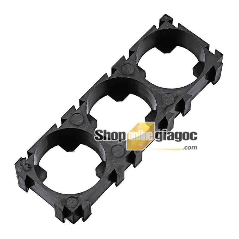 Khung Cố Định 3 Pin 18650 Lắp Ghép (Bộ 10 cái) - shoponlinegiagoc