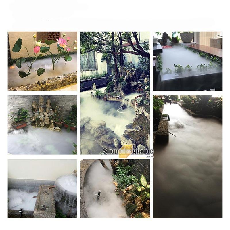 Vỉ Tạo Ẩm – Tạo Khói Ẩm 10 Mắt 250W + Nguồn chống nước IP67 48V 8.4A