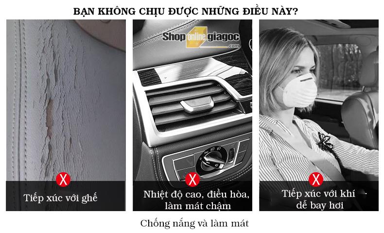 Rèm Tấm Che Nắng Kính Lái Ô Tô 70cm - shoponlinegiagoc