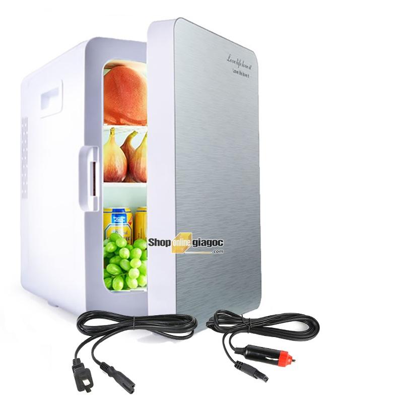 Tủ Lạnh Mini Di Động Dành Cho Ô Tô hoặc hộ gia đình 12V-220V 20 Lít