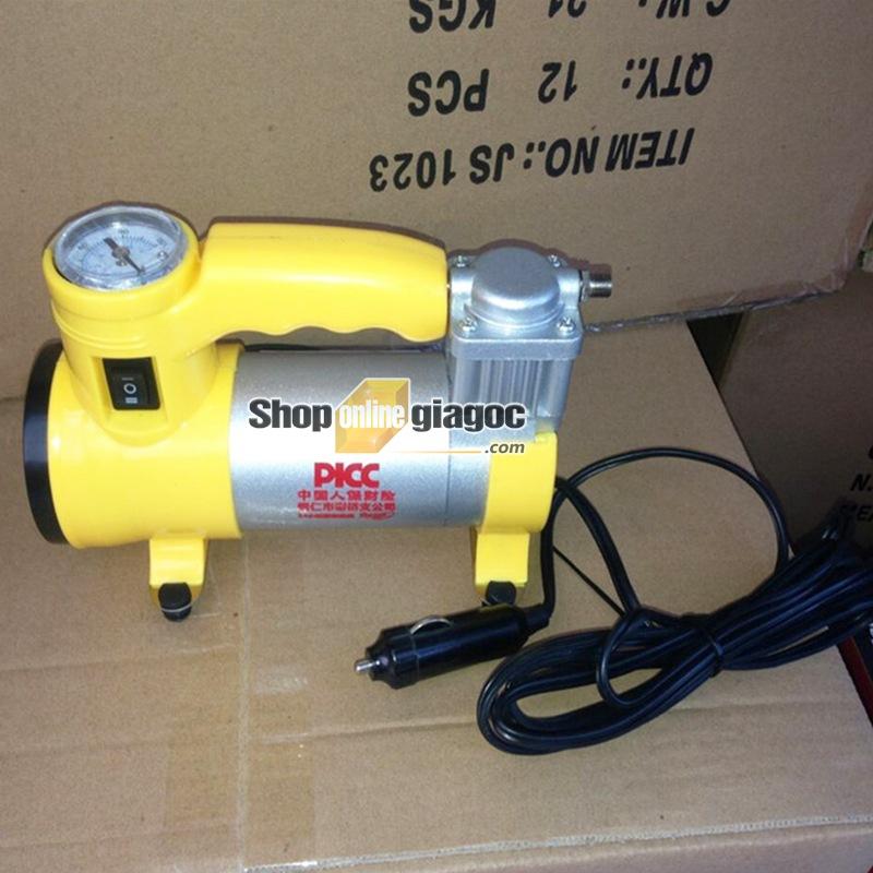 Bơm Lốp Ô Tô Mini 150PSI SPW-03 - shoponlinegiagoc