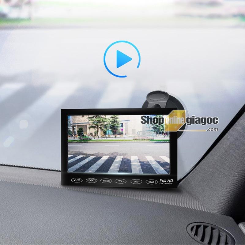 Combo Camera Cập Lề Ô Tô + Màn Hình 7 Inch 1280x800p HD - shoponlinegiagoc