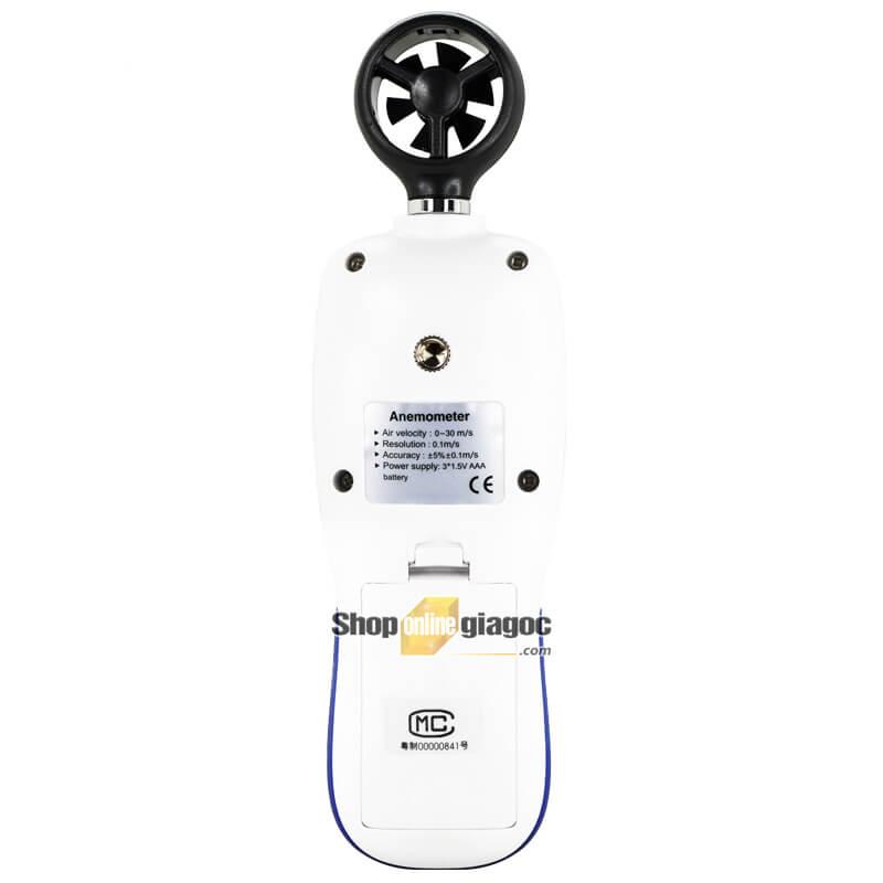 Máy Đo Tốc Độ Gió Kết Nối Bluetooth GM816B - shoponlinegiagoc