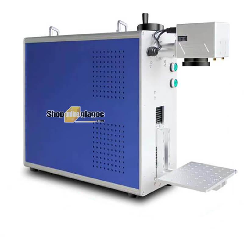 Máy Khắc Laser Fiber Mini Xách Tay 20W