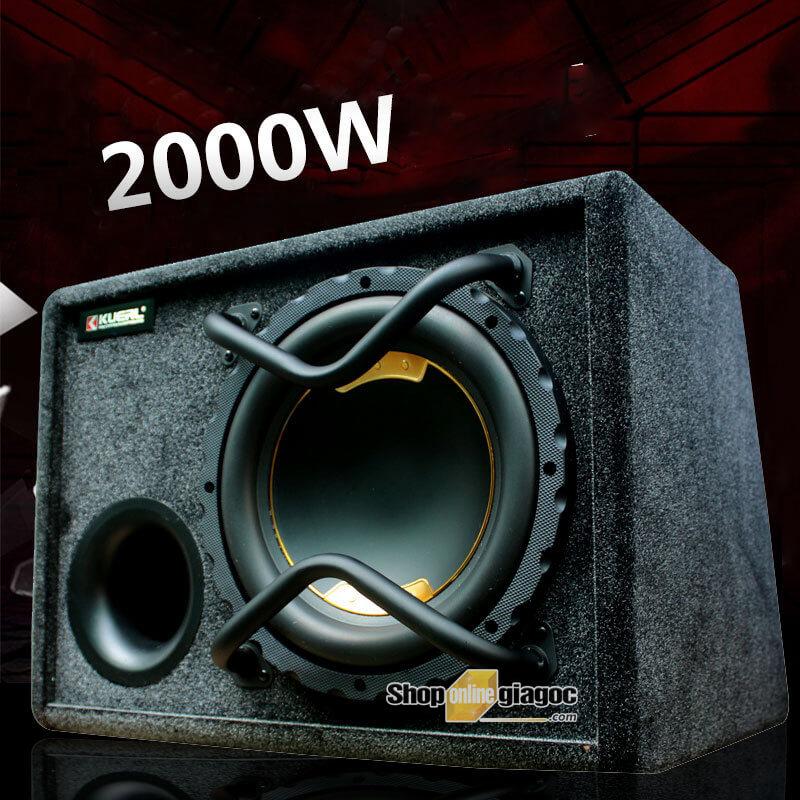 Loa Sub Siêu Trầm 10 Inch 2000W 20Hz-500Hz K-M10APR