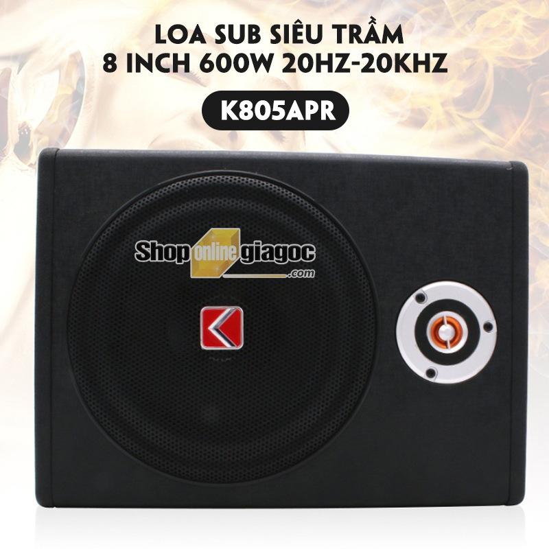 Loa Sub Siêu Trầm 8 Inch 600W 20hz-20khz K805APR