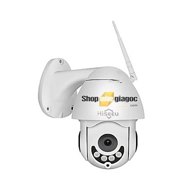 Camera IP Hiseeu Chống Nước Phóng Đại WHD702-A - Camera giám sát an ninh không dây 1080P