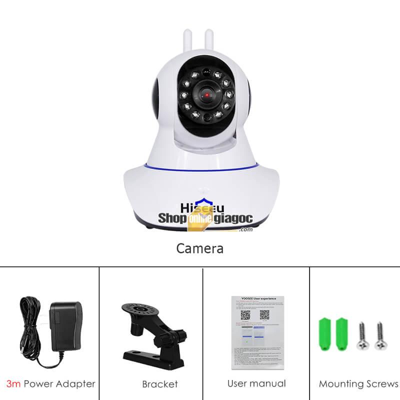 Camera IP Hiseeu FH1D 3MP - Camera Giám Sát An Ninh Không Dây 1536P
