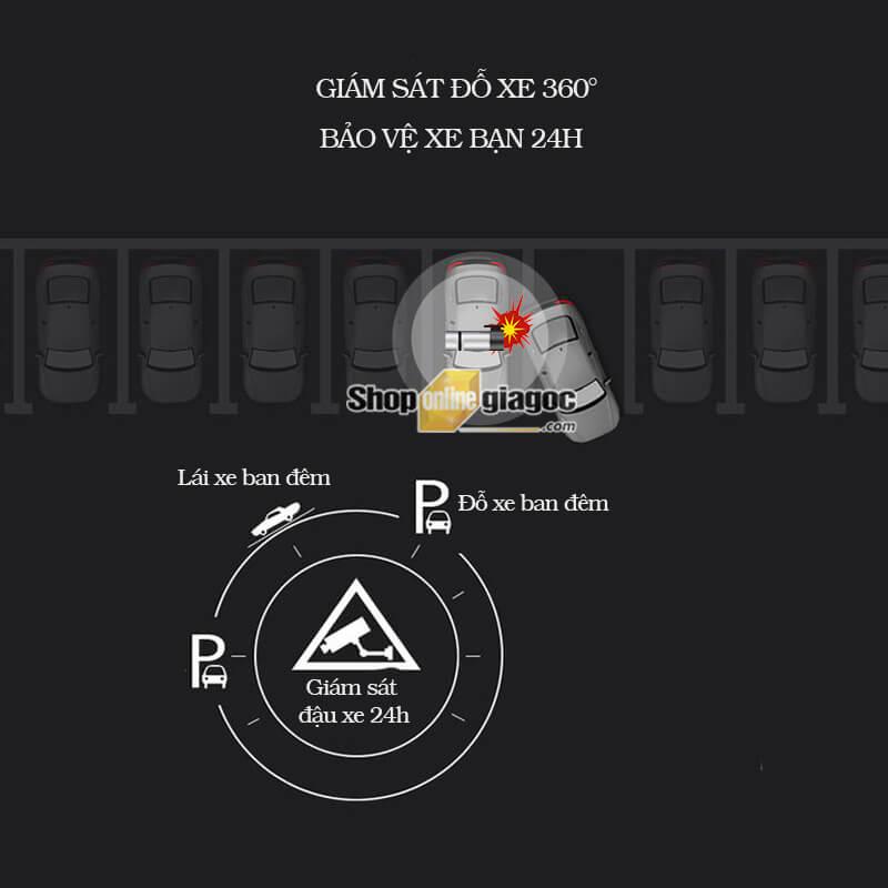 Camera Ô Tô Giám Sát 360 Độ Toàn Cảnh HD