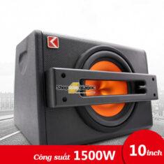 Loa Sub Siêu Trầm 10 Inch 1500W 20Hz-250Hz K-E10