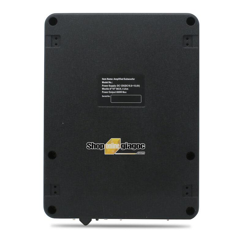 Loa Sub Siêu Trầm 8 Inch 600W 20Hz-500Hz K-8006APR