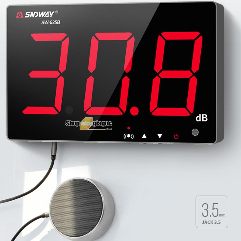 Máy đo tiếng ồn treo tường SNDWAY SW525A / SW525B / SW526A / SW535A