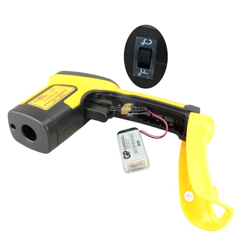 Máy đo nhiệt độ hồng ngoại Smart Sensor AS852B