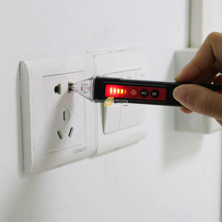 Bút thử điện không tiếp xúc Smart Sensor ST100 cung cấp bởi shoponlinegiagoc.com