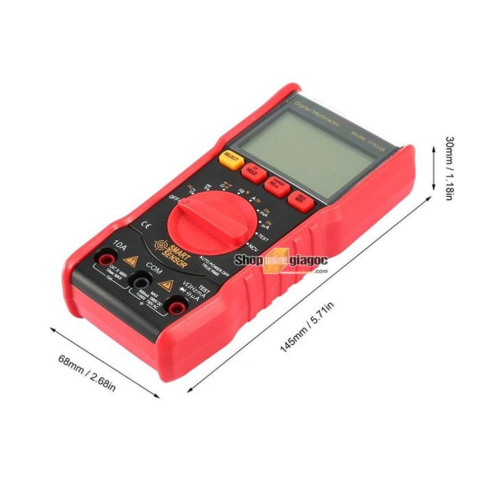 Đồng hồ vạn năng kĩ thuật số Smart Sensor ST833A cung cấp bởi shoponlinegiagoc.com