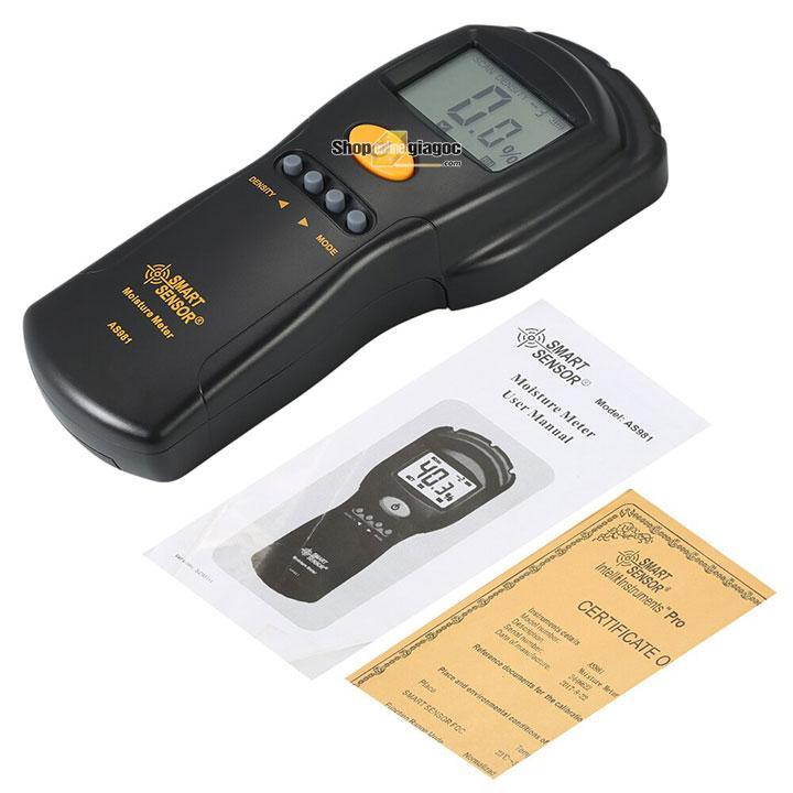 Máy đo độ ẩm Smartsensor AS98 cung cấp bởi shoponlinegiagoc.com