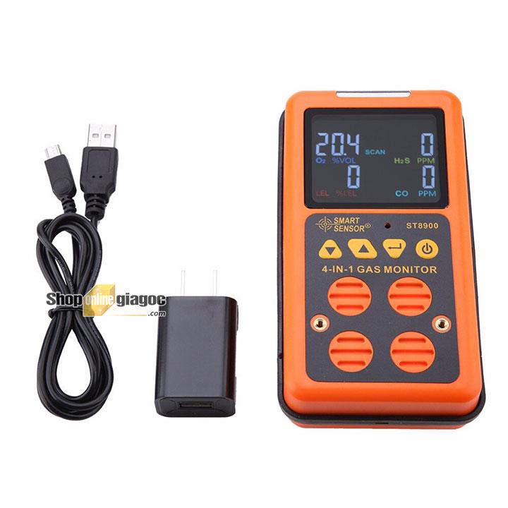 Máy đo khí đa chỉ tiêu Smart Sensor ST8900 Từ shoponlinegiagoc.com