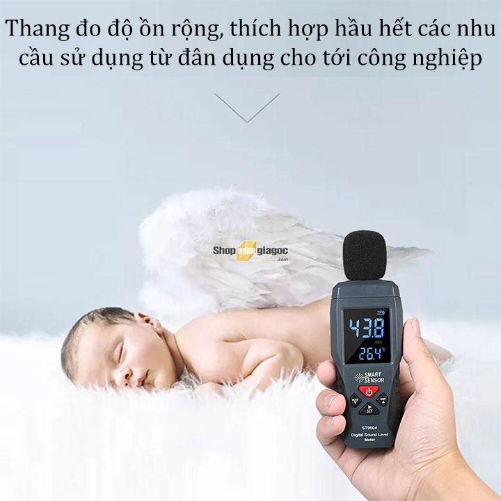 Máy đo độ ồn âm thanh Smart Sensor ST9604 đến từ shoponlingiagoc.com