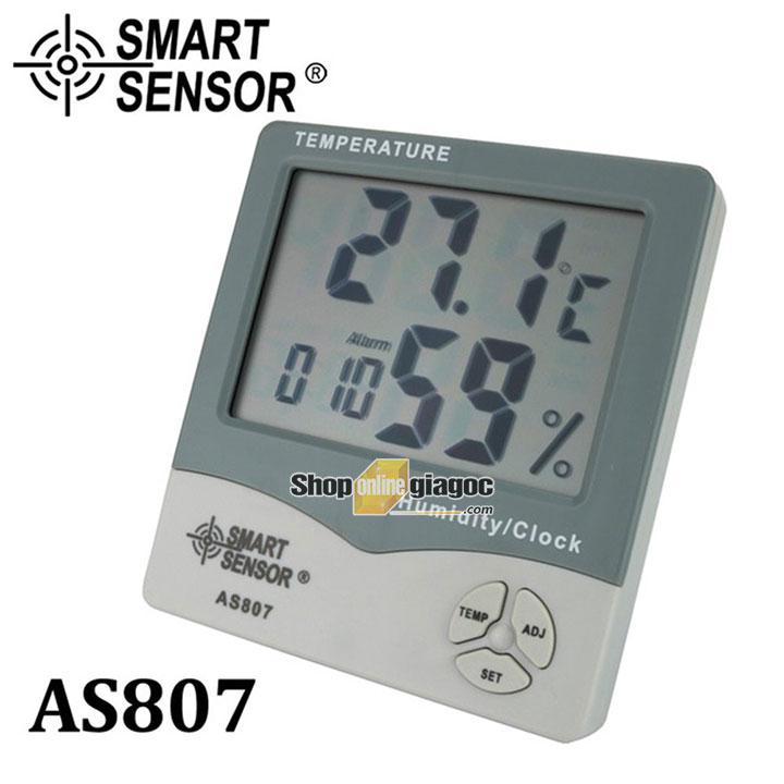 Nhiệt ẩm kế Smartsensor AS807 cung cấp bởi shoponlinegiagoc.com