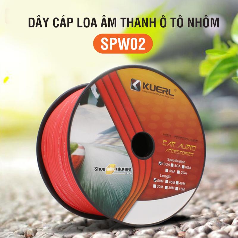 Dây Cáp Loa Âm Thanh Ô Tô Nhôm SPW02