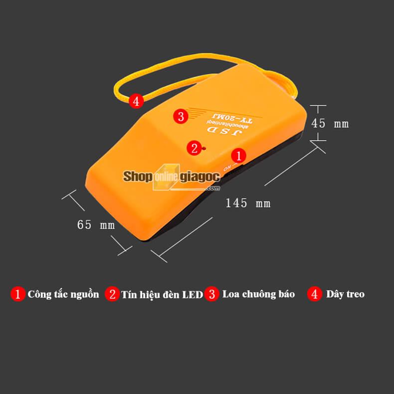 Máy Dò Kim Loại Trong May Mặc TY-20MJ