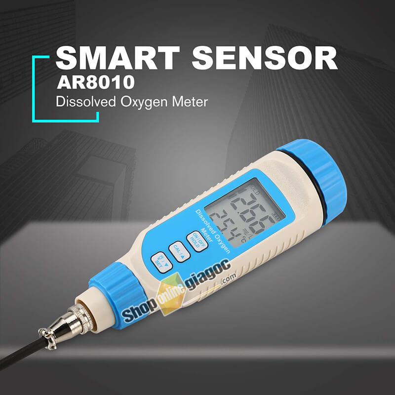 Máy Đo Oxy Hòa Tan Cầm Tay Kỹ Thuật Số Smart Sensor AR8010