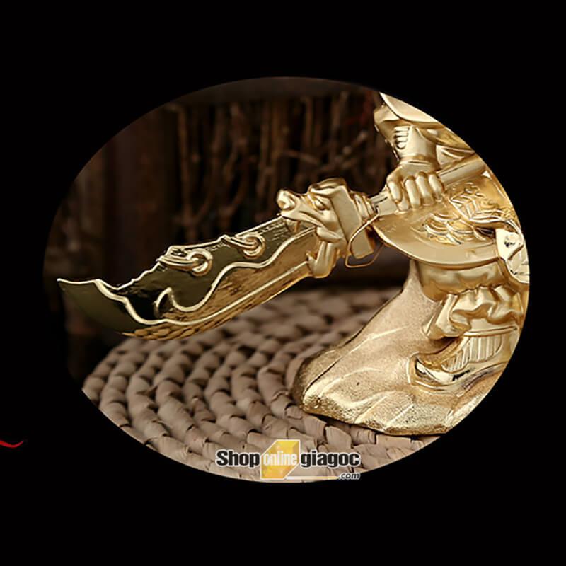 Nước Hoa Ô Tô Phong Thủy Tượng Quan Công SPW02