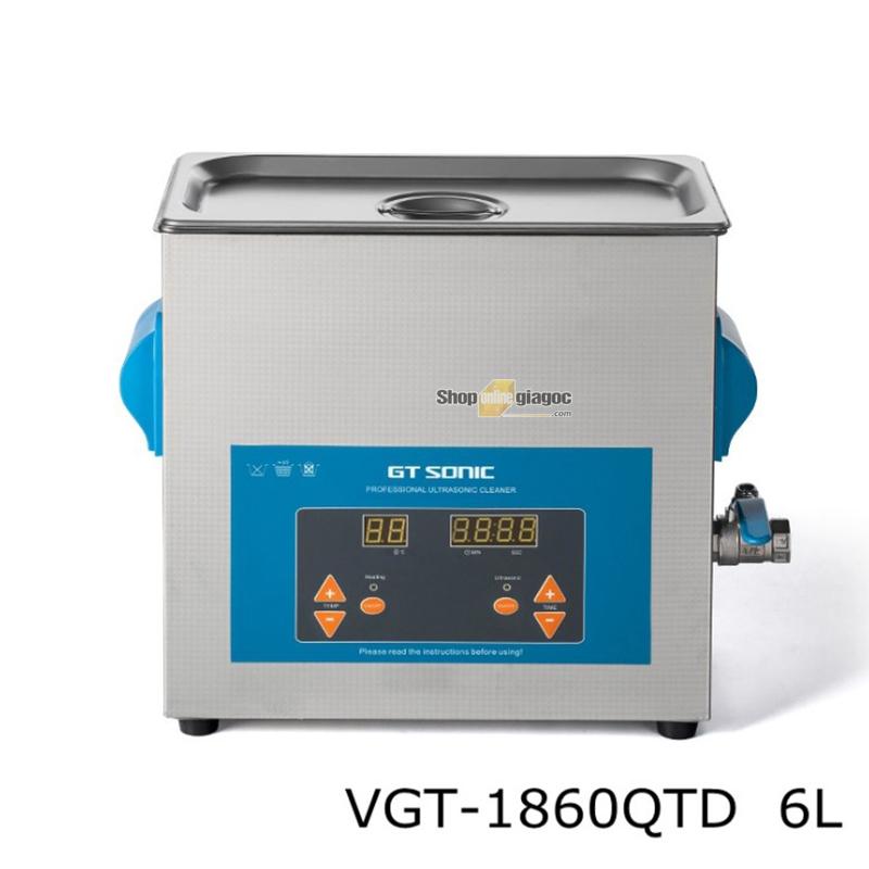 Bể Rửa Siêu Âm GT Sonic VGT-1860QT 6L