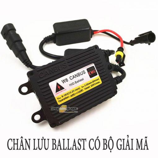 Bộ Đèn Pha Xenon HID 9006 55W Kèm Chấn Lưu (Ballast) Có Bộ Giải Mã 3000K/5000K/6000K/8000K