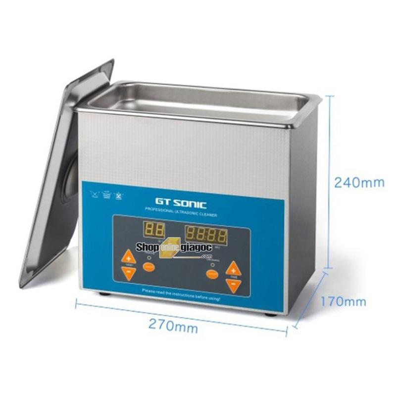 Bể Rửa Siêu Âm GT SONIC VGT1730QTD 3 Lít