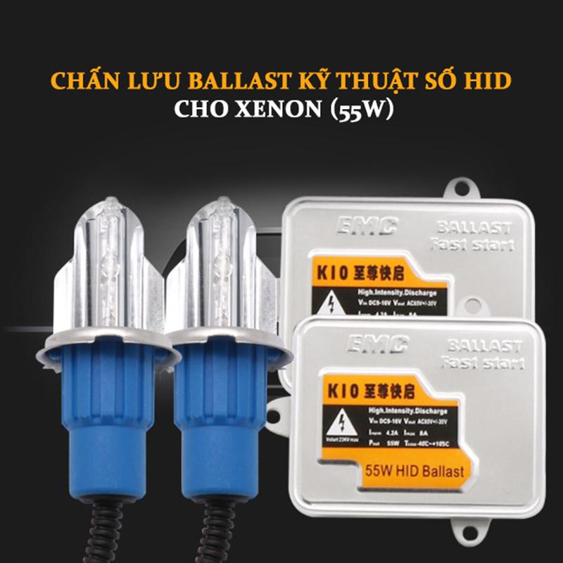 Bộ Đèn Pha Xenon HID H1 55W Kèm Chấn Lưu (Ballast) 3000K/5000K/6000K/8000K