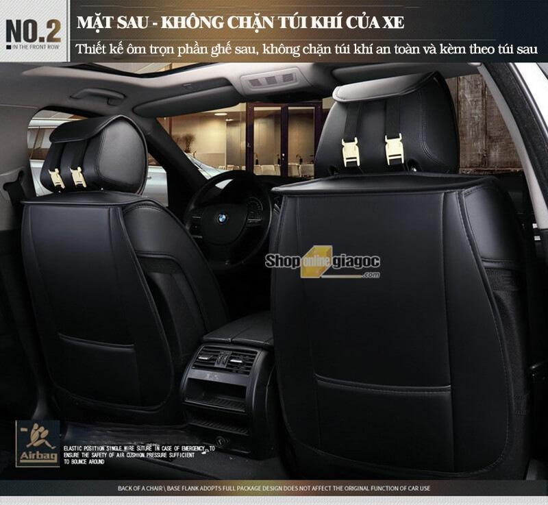 Bộ Áo Ghế Da Ô Tô 5D Cho Xe 5 Chỗ, Bọc Ghế Xe Hơi