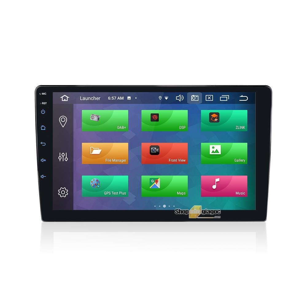 Màn Hình Android 9.0, IPS 9 Inch, 2.5D, DSP, RAM 4GB + ROM 64G