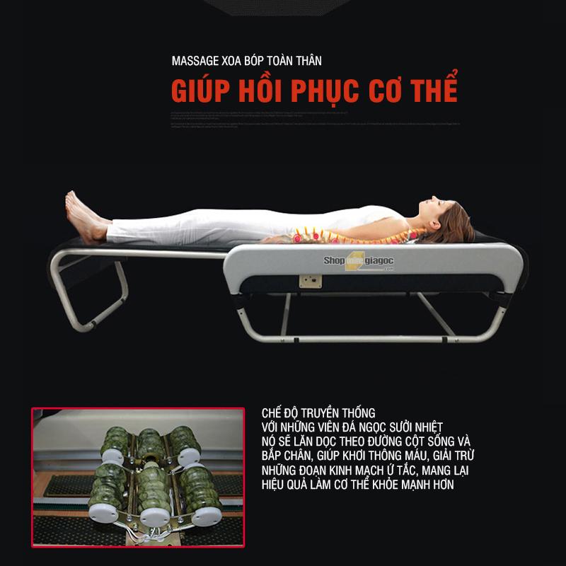Giường Massage 3D Vật Lý Trị Liệu Tích Hợp Loa YJK5889