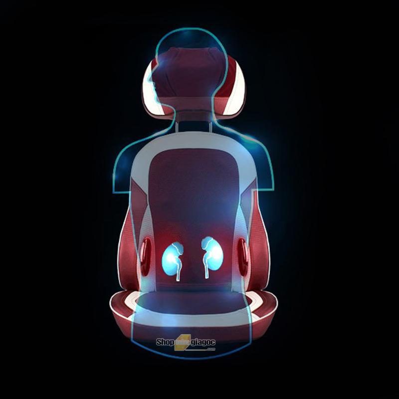 Đệm Ghế Massage 3D Thông Minh YJ628CZ9