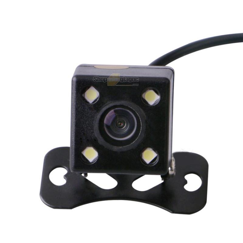 Camera Lùi Ô Tô HD Chống Nước Đảo Ngược 4 Led