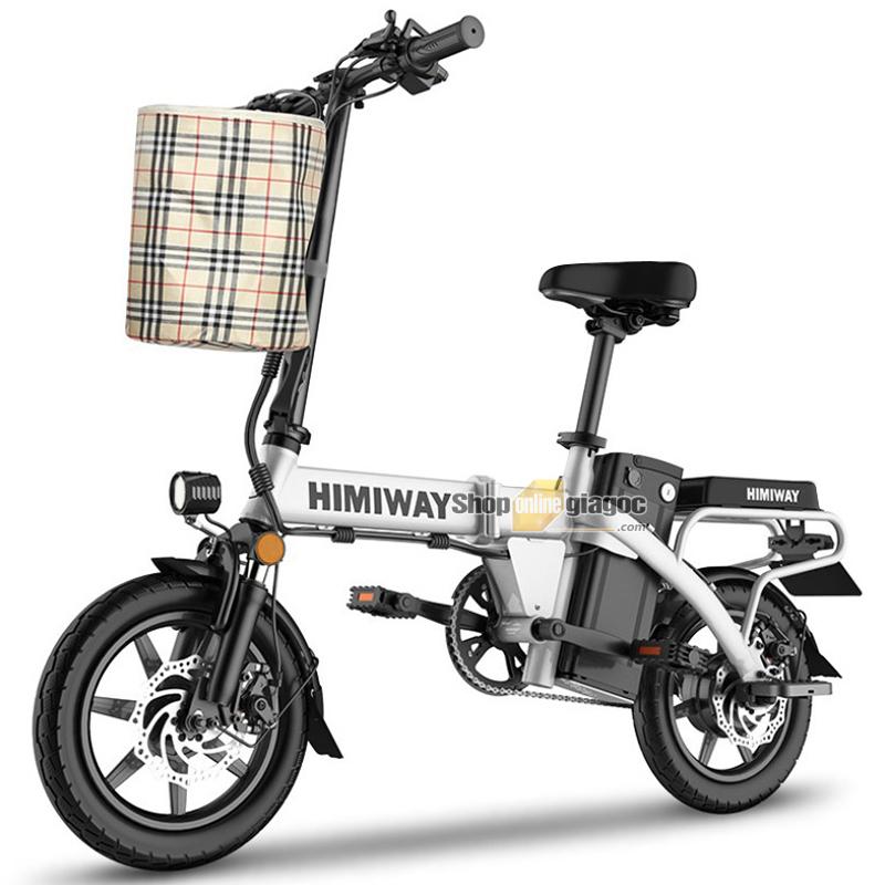 Xe Đạp Điện Gấp Gọn Mini Chạy Pin HIMIWAY SPW01