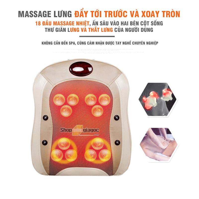 Đệm Ghế Massage 3D Thông Minh YFL360B4