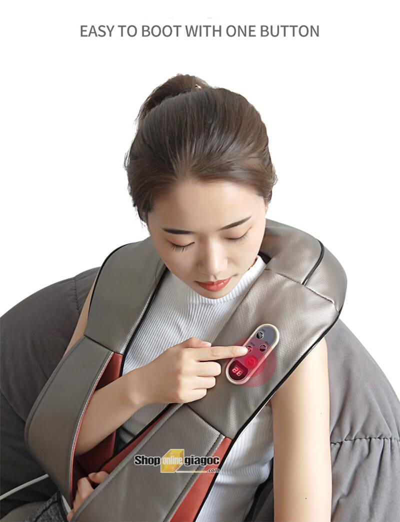 Đai Massage Cổ Vai Lưng Chân Đa Năng D801