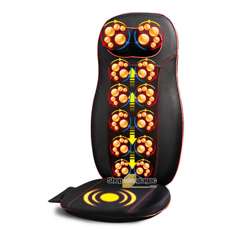 Đệm Ghế Massage Toàn Thân Đa Chức Năng A605C