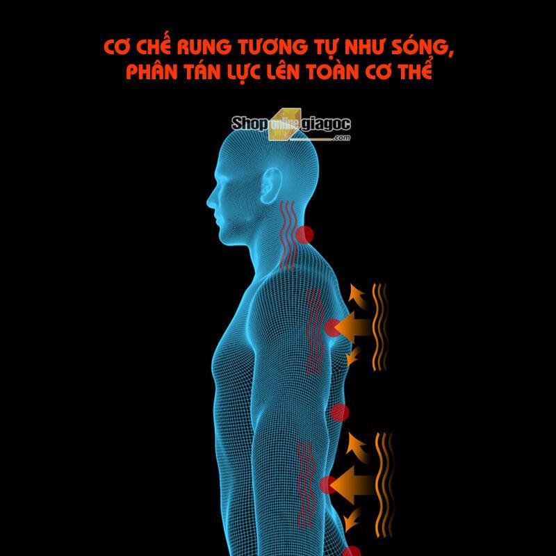 Đệm Ghế Massage Toàn Thân Nhiệt Sưởi Đa Năng A501