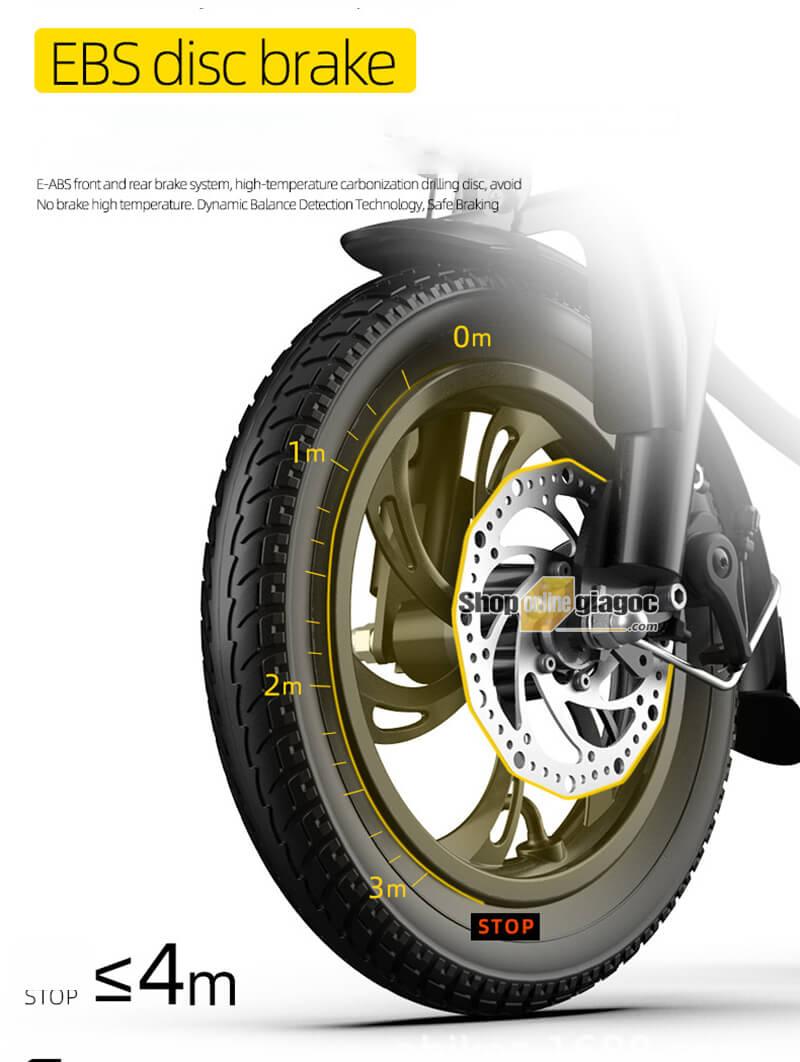 Xe Đạp Điện Gấp Gọn Minibike SPW03