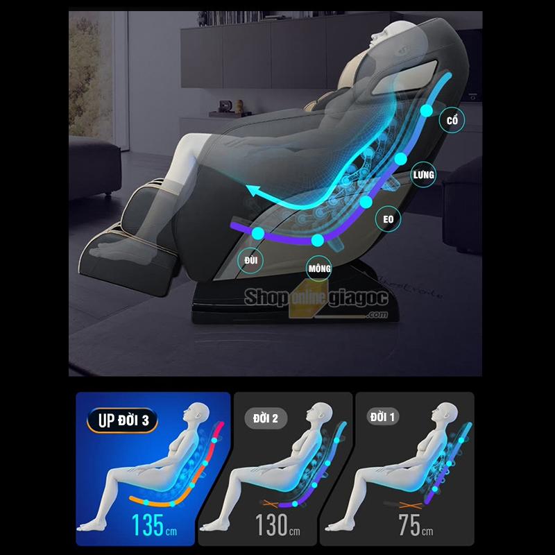 Ghế Massage Không Trọng Lực Thông Minh YJKL9